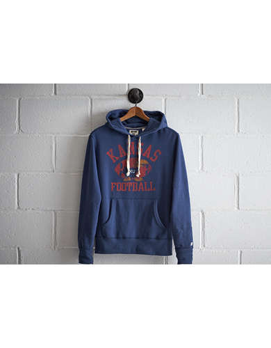 Tailgate Men's Kansas Popover Hoodie - Free Returns