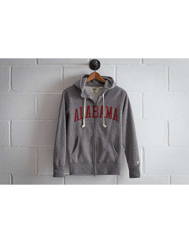 Tailgate Men's Alabama Zip Hoodie - Free Returns