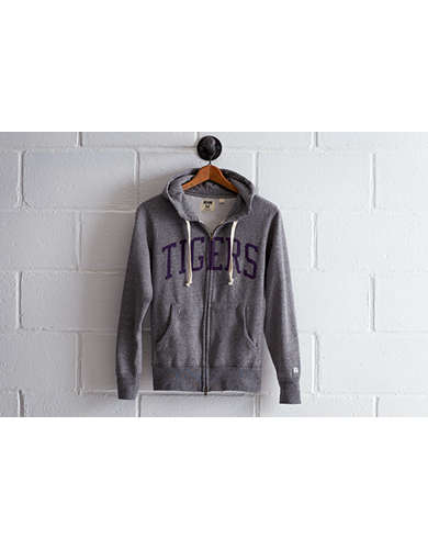 Tailgate Men's LSU Zip Hoodie - Free Returns