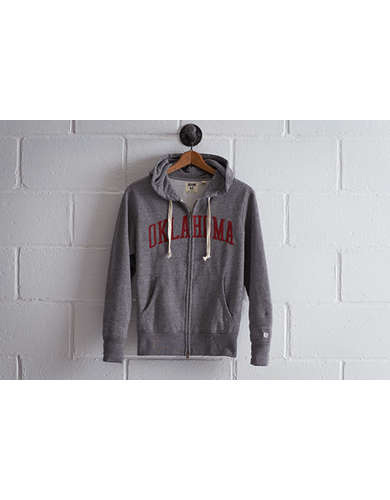 Tailgate Men's Oklahoma Zip Hoodie - Free Shipping + Free Returns