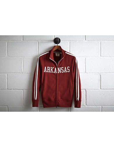 Tailgate Men's Arkansas Track Jacket - Free Returns