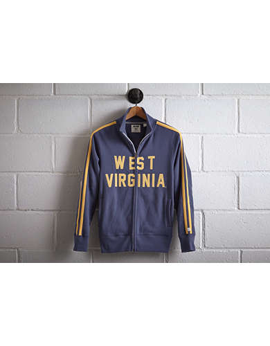 Tailgate Men's West Virginia Track Jacket - Free Returns