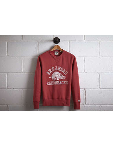 Tailgate Men's Arkansas Crew Sweatshirt - Free Returns