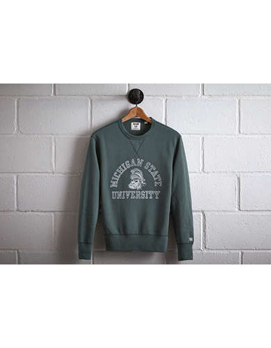 Tailgate Men's Michigan State Crew Sweatshirt -
