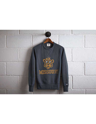 Tailgate Men's Missouri Crew Sweatshirt - Free Returns