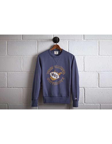 Tailgate Men's WVU Crew Sweatshirt - Free Returns