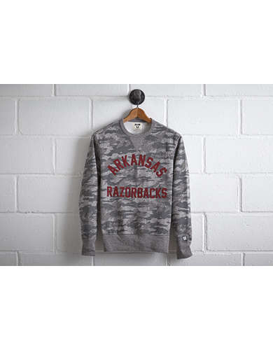 Tailgate Men's Arkansas Camo Sweatshirt - Free Returns