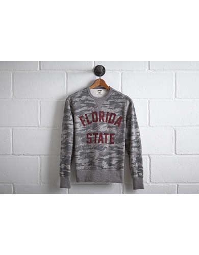 Tailgate Men's Florida State Camo Sweatshirt - Free Returns