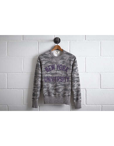 Tailgate Men's NYU Camo Sweatshirt - Free returns
