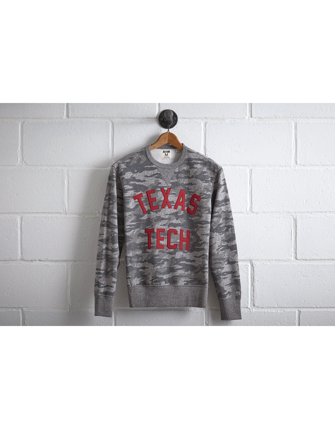 Tailgate Men's Texas Tech Camo Sweatshirt