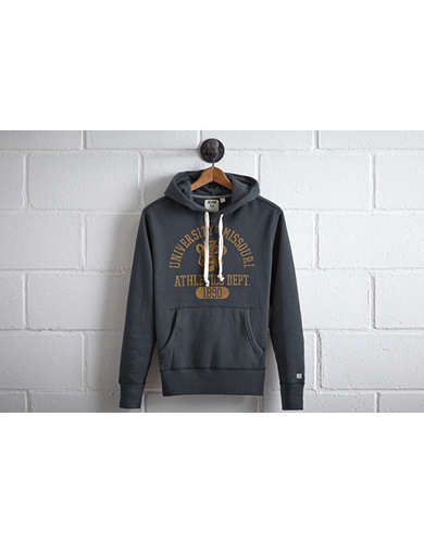 Tailgate Men's Missouri Popover Hoodie - Free Returns