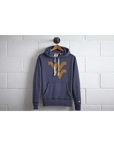 Tailgate Men's West Virginia Popover Hoodie - Free Returns