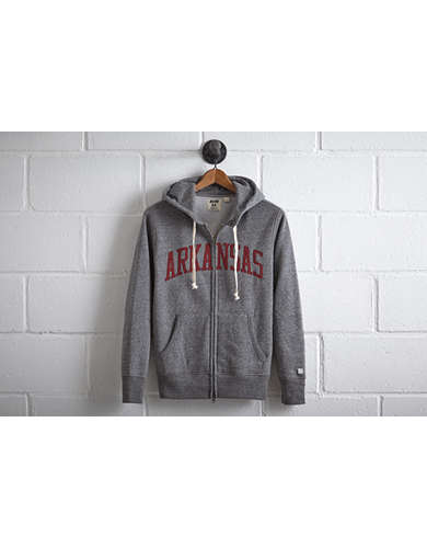 Tailgate Men's Arkansas Zip Hoodie - Free Returns