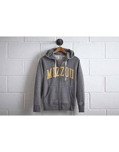 Tailgate Men's Missouri Zip Hoodie - Free Returns