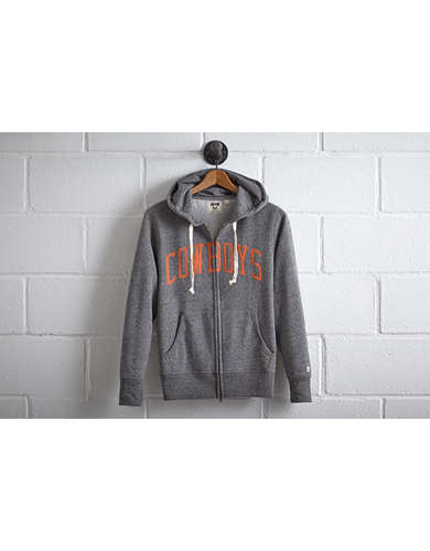 Tailgate Men's OSU Cowboys Zip Hoodie - Free Returns