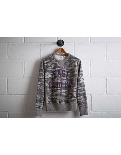 Tailgate Men's ECU Pirates Camo Sweatshirt - Free Returns