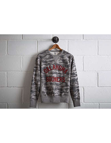 Tailgate Men's Oklahoma Camo Sweatshirt - Free returns
