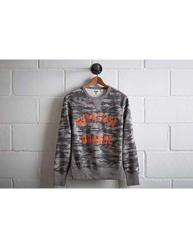 Tailgate Men's Syracuse Orange Camo Sweatshirt - Free Returns