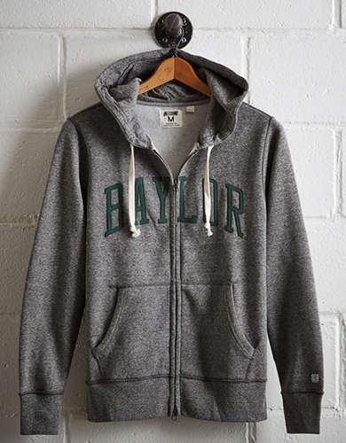 Tailgate Men's Baylor Zip-Up Hoodie -