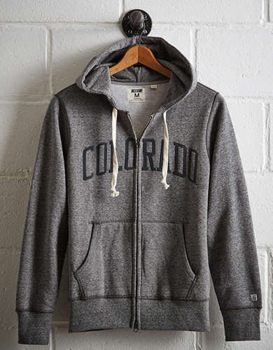 Tailgate Men's Colorado Zip-Up Hoodie -