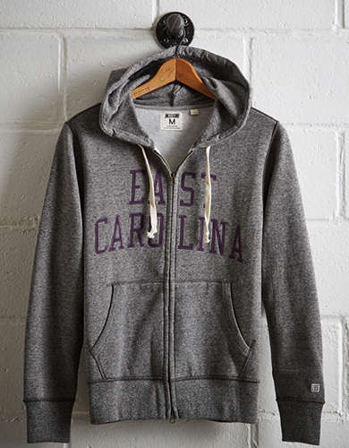 Tailgate Men's East Carolina Zip-Up Hoodie -