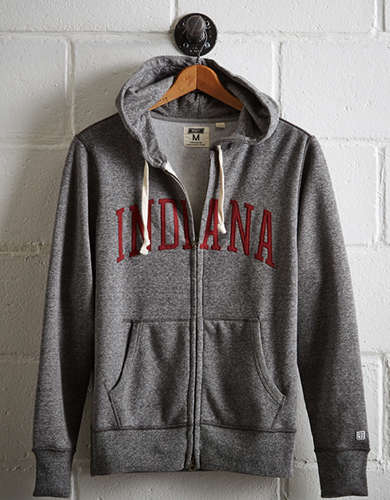 Tailgate Men's Indiana Zip-Up Hoodie -