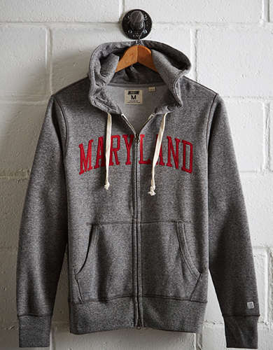 Tailgate Men's Maryland Zip-Up Hoodie -