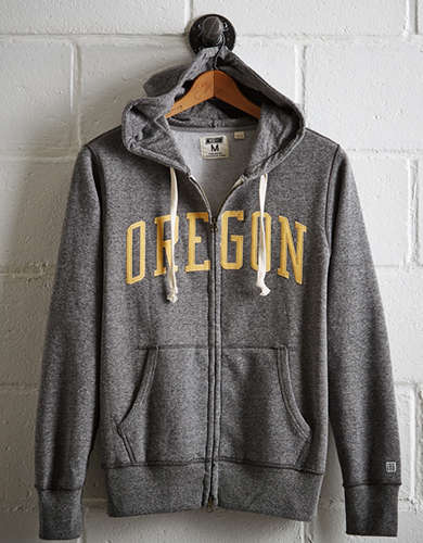 Tailgate Men's Oregon Zip-Up Hoodie - Free Returns