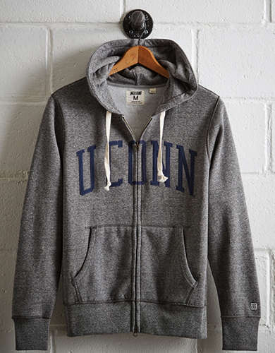 Tailgate Men's UConn Zip-Up Hoodie - Free Returns