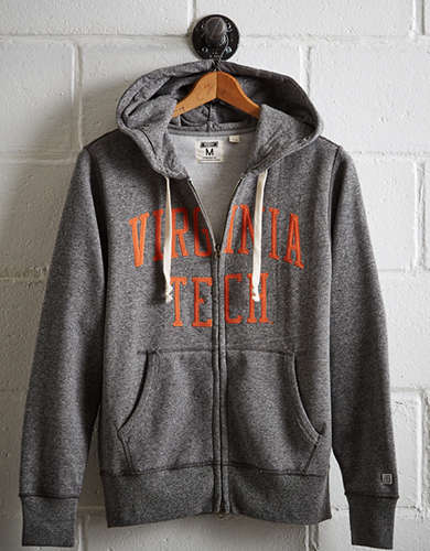 Tailgate Men's Virginia Tech Zip-Up Hoodie - Free Returns
