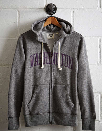 Tailgate Men's Washington Zip-Up Hoodie - Free Returns
