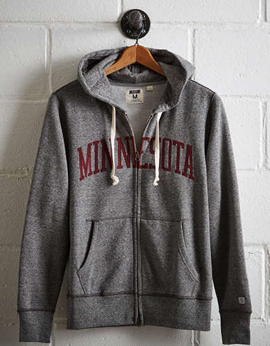 Tailgate Men's Minnesota Zip-Up Hoodie -
