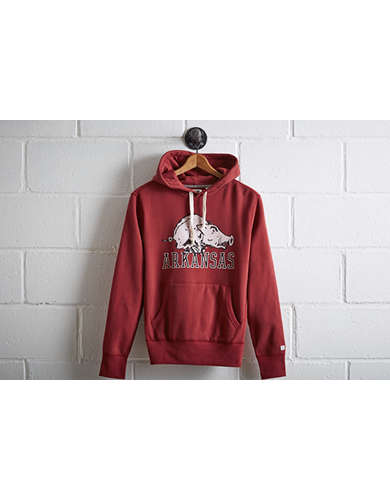 Tailgate Men's Arkansas Popover Hoodie - Free Returns