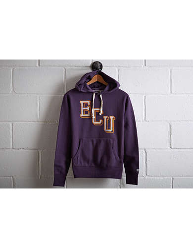 Tailgate Men's East Carolina Popover Hoodie - Free Returns