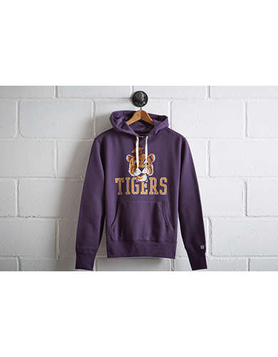 Tailgate Men's LSU Tigers Popover Hoodie - Free Returns