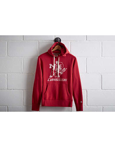 Tailgate Men's Nebraska Popover Hoodie - Free Returns