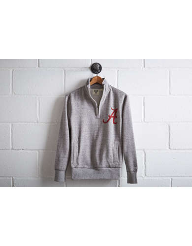 Tailgate Men's Alabama Half-Zip Fleece Popover - Free Returns