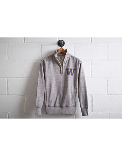 Tailgate Men's Washington Half-Zip Fleece Popover -