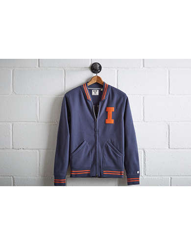 Tailgate Men's Illinois Bomber Jacket