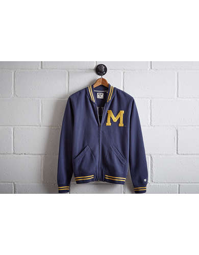 Tailgate Men's Michigan Bomber Jacket