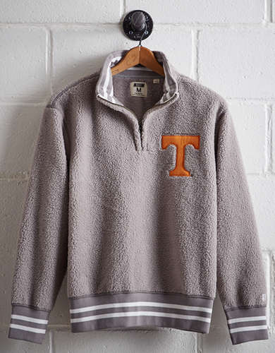 Tailgate Men's Tennessee Sherpa Half-Zip Popover - Free Returns