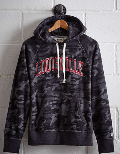 Tailgate Men's Louisville Popover Camo Hoodie - Free Returns