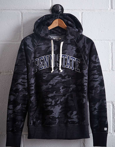 Tailgate Men's Penn State Popover Camo Hoodie -