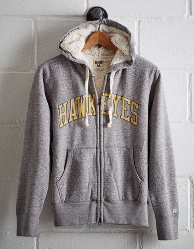 Tailgate Men's Iowa Sherpa Hoodie - Free Returns