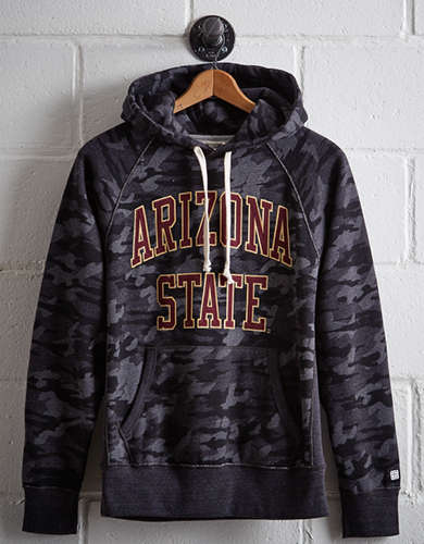 Tailgate Men's Arizona State Popover Camo Hoodie - Free Returns
