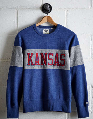 Tailgate Men's Kansas Panel Sweatshirt -