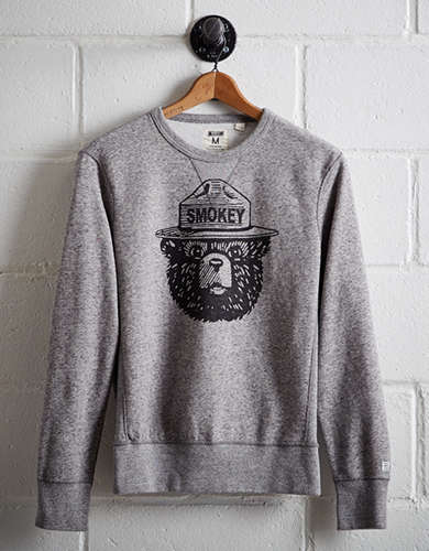 Tailgate Men's Smokey the Bear Sweatshirt -