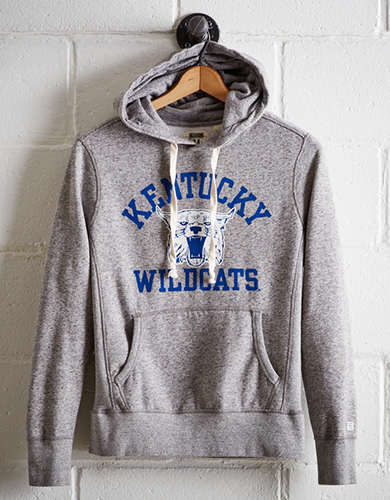 Tailgate Men's Kentucky Popover Raglan Hoodie - Free Returns