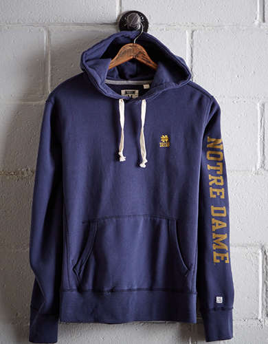 Tailgate Men's Notre Dame Fleece Hoodie - Free Returns