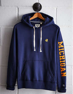 Tailgate Men's Michigan Fleece Hoodie